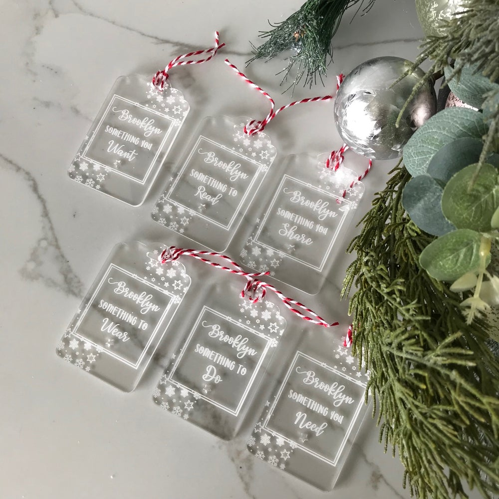 Image of Starry Personalised Gift Tags