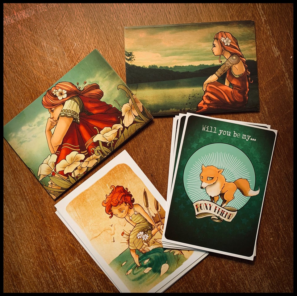 Image of Mixed postcards