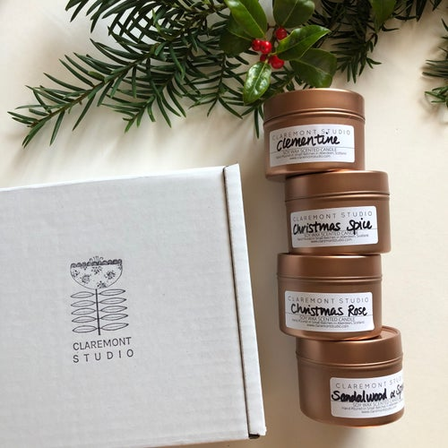 Image of Christmas Candle Travel Tin Special Offer