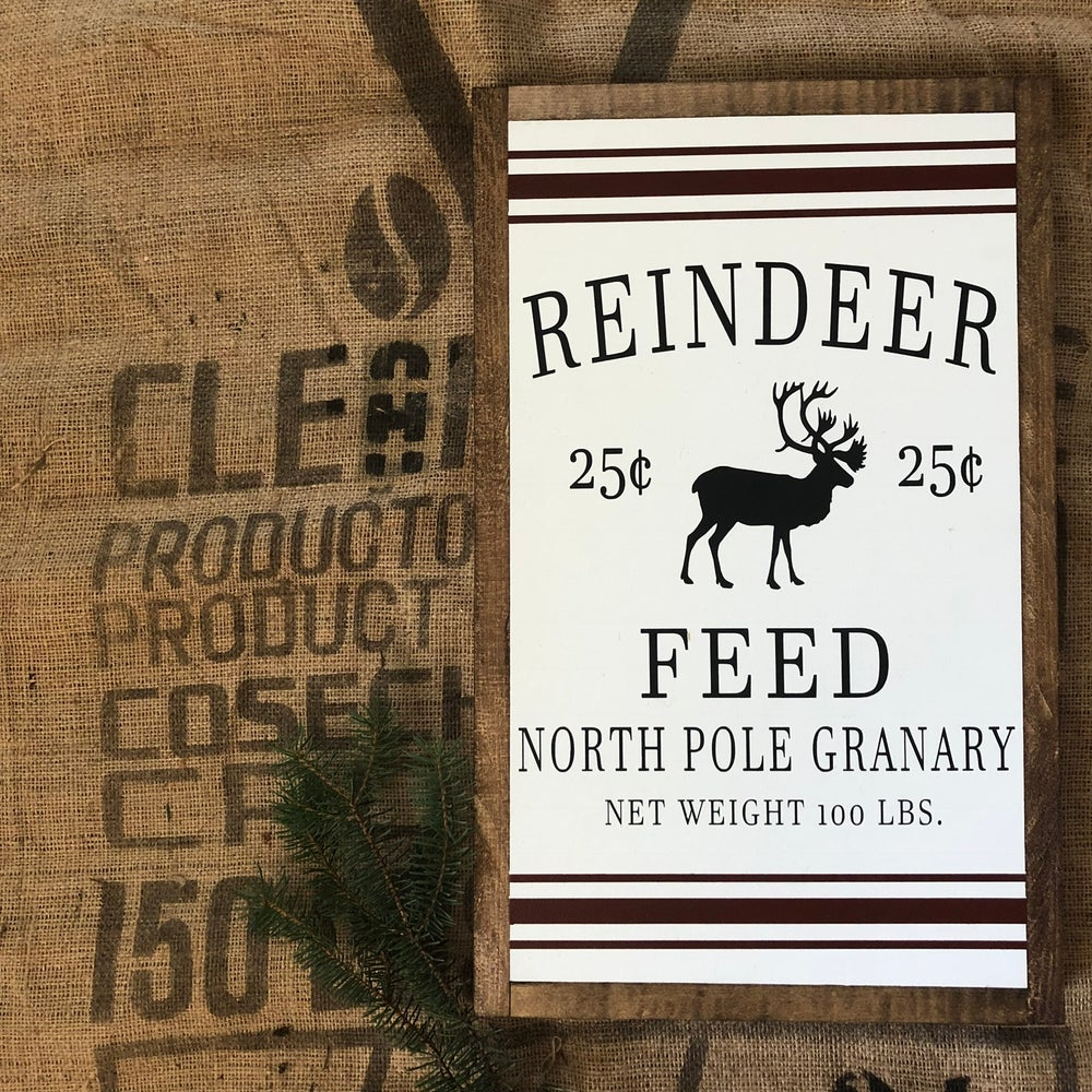 Image of Reindeer feed