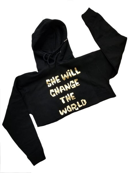 "Image of ""She Will Change The World"" Croptop"