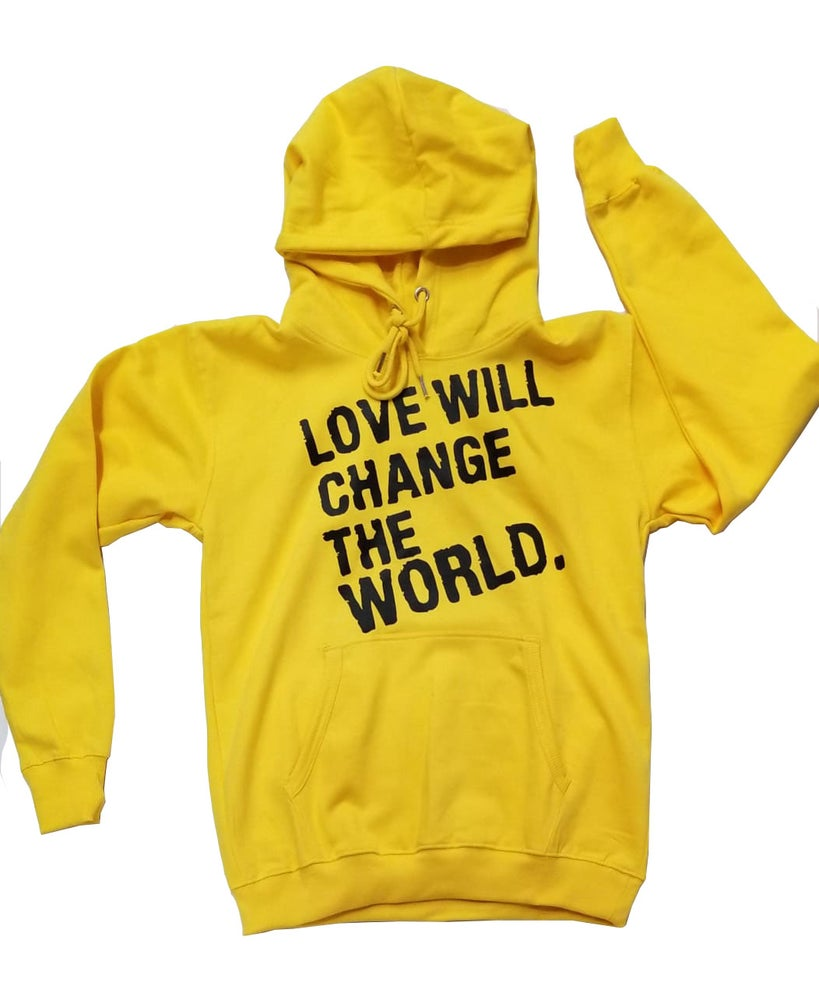 "Image of ""Love Will Change The World"" Yellow"