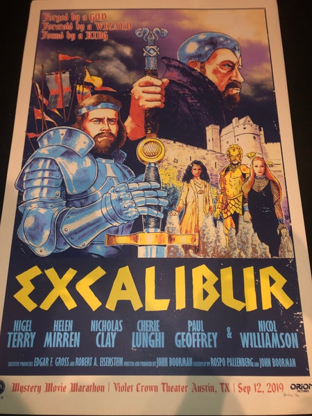 Image of Excalibur Print WaffleCon 2019