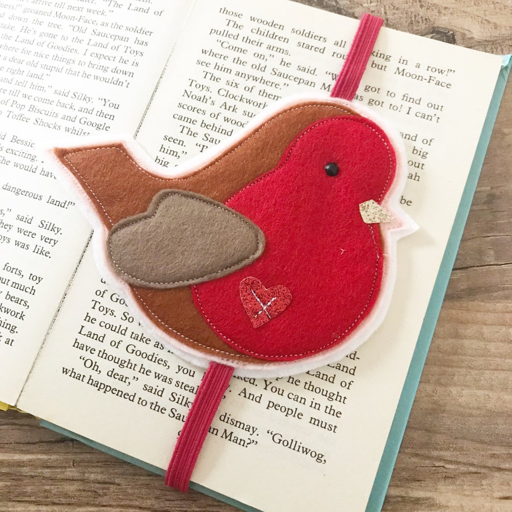 Image of Robin bookmark