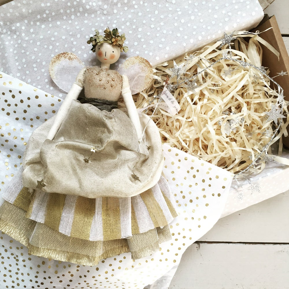 Image of Festive fairy #gold