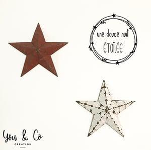"""Image of Sticker """"Une douce nuit étoilée"""""""