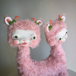 Image of Posey and Rosie the Two-headed Yak Sisters