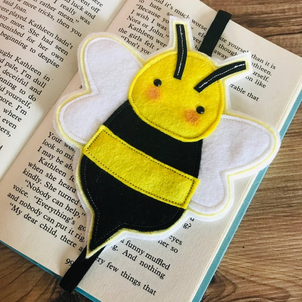 Image of Bee bookmark