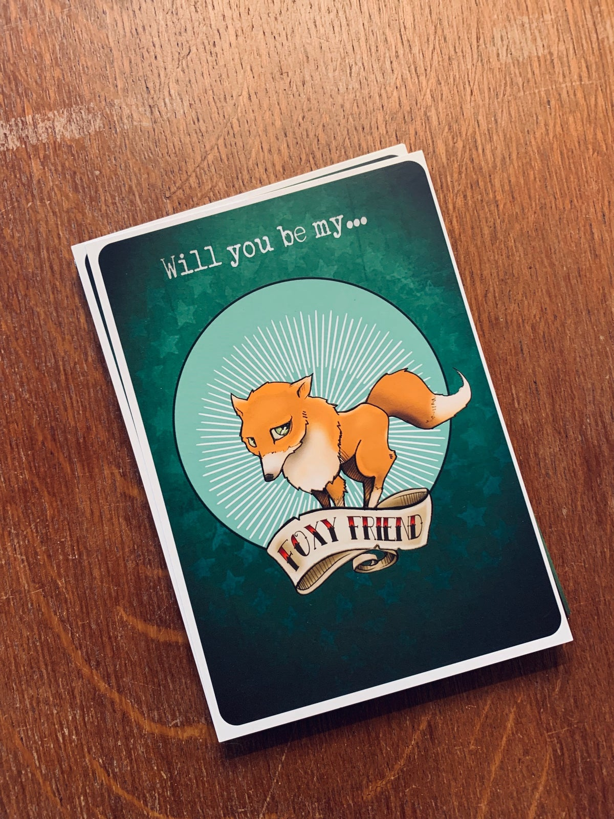 Image of Postcards foxy Friend