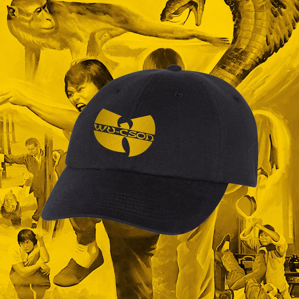"Image of ""WU-CSON"" - Champion™ Jersey Knit Dad's Cap"