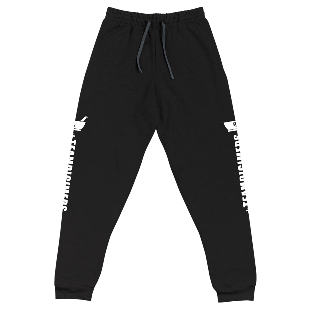 Image of Rx Brand Black Jerzees Joggers