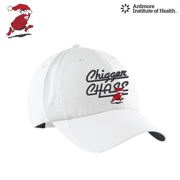 Image of CHIGGER CHASE- WHITE NIKE HAT