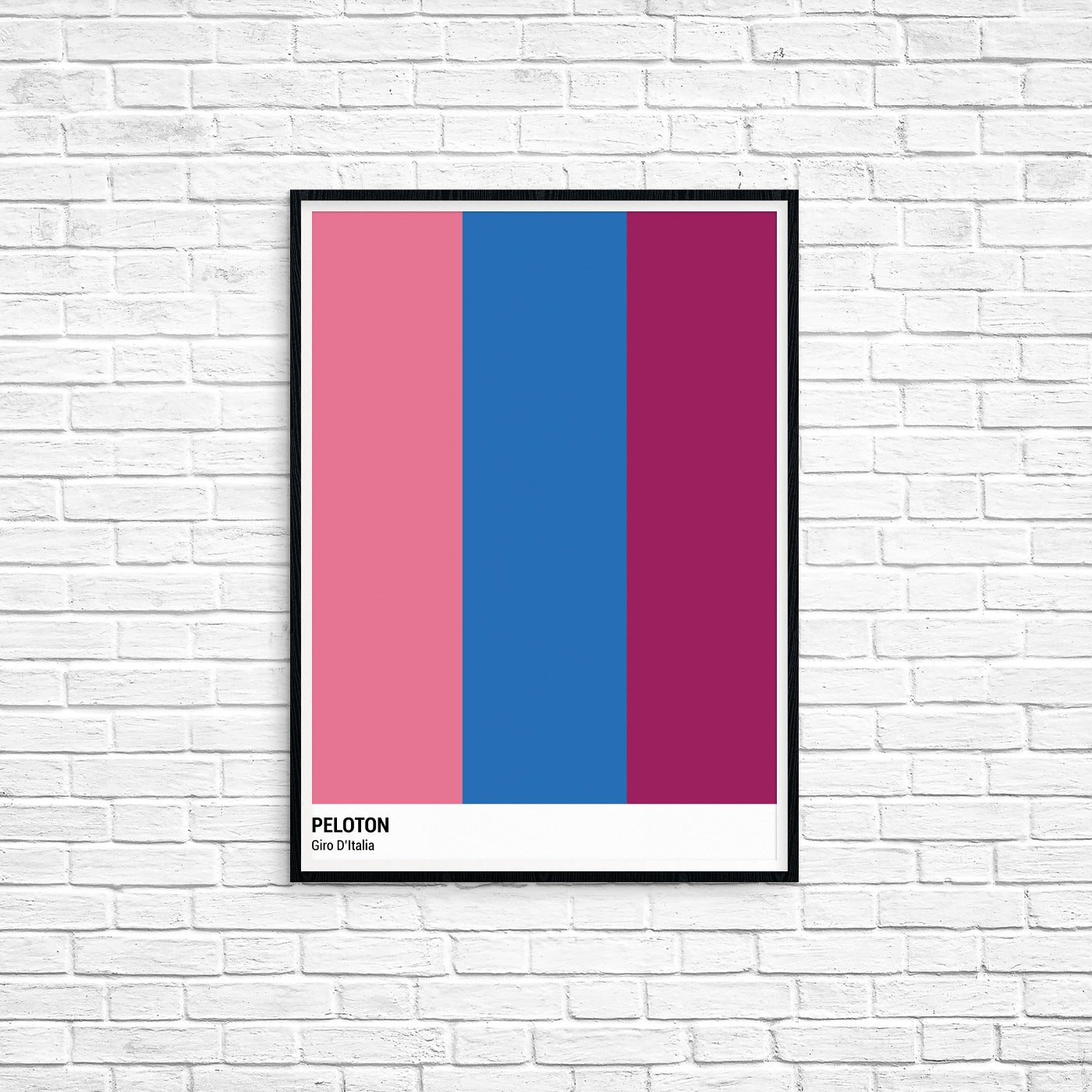 Image of Peloton Print - Giro D'Italia Series