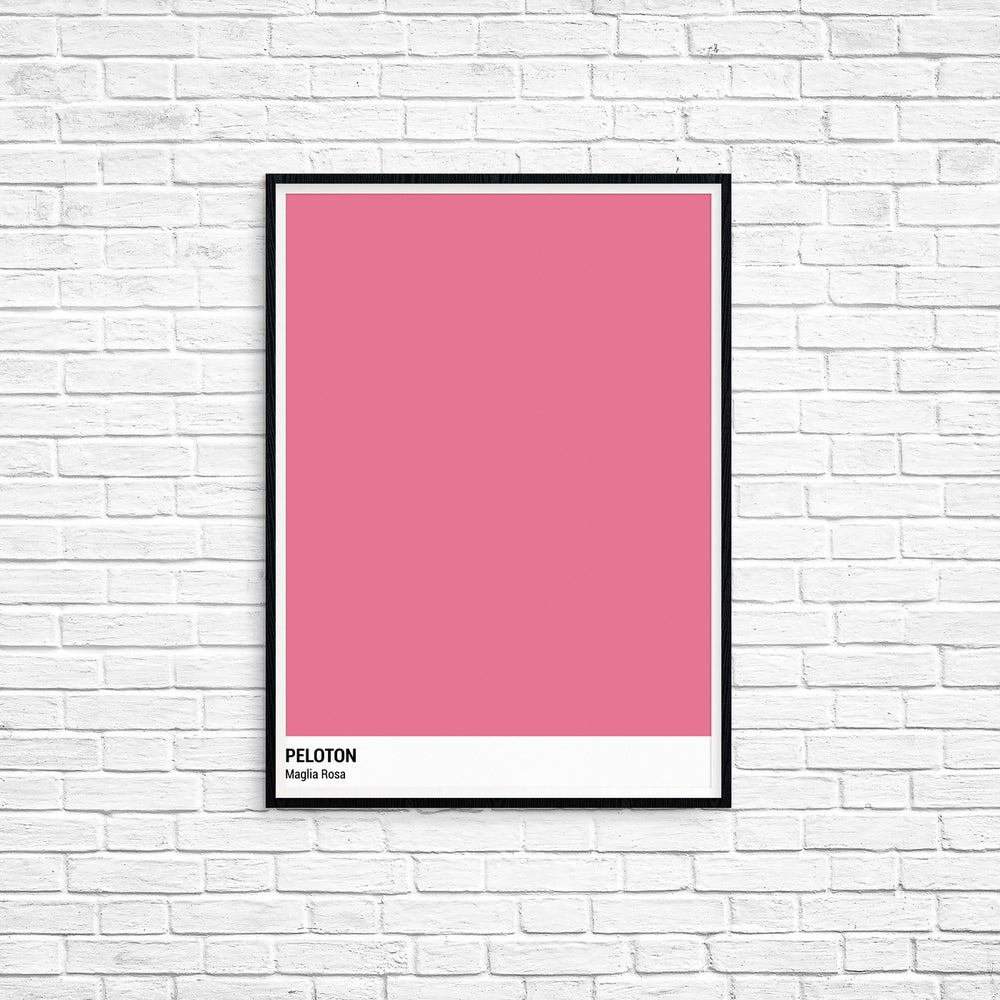 Peloton Print - Giro D'Italia Series