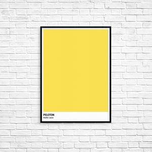 Image of Peloton Print - Tour De France Series