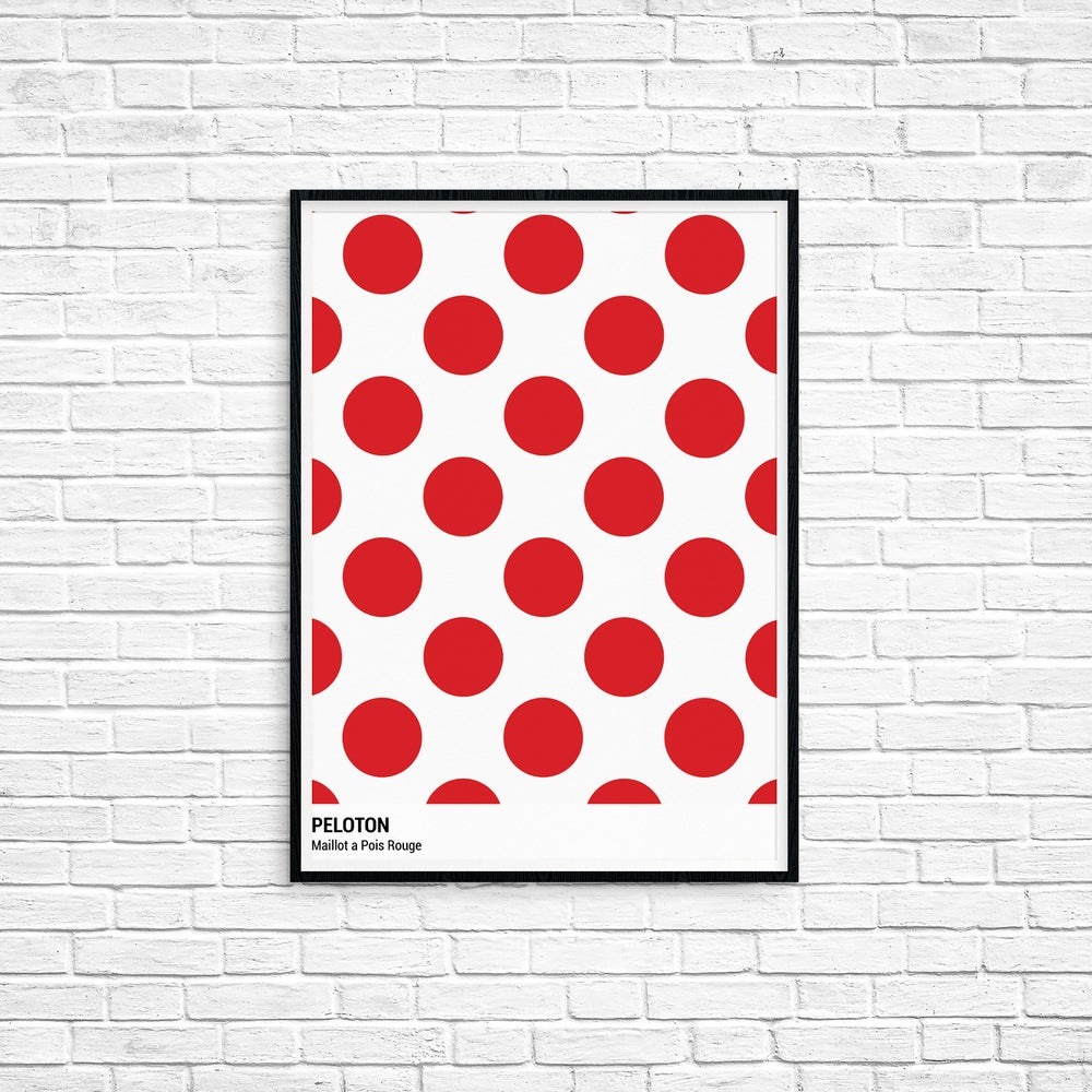 Peloton Print - Tour De France Series