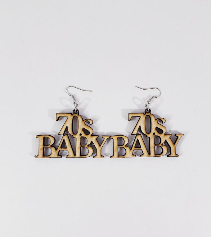 Image of 70s Baby Earrings