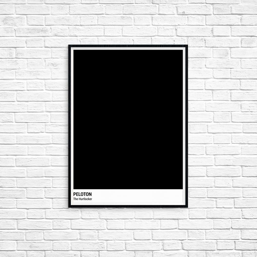 Peloton Print - The Hurtlocker