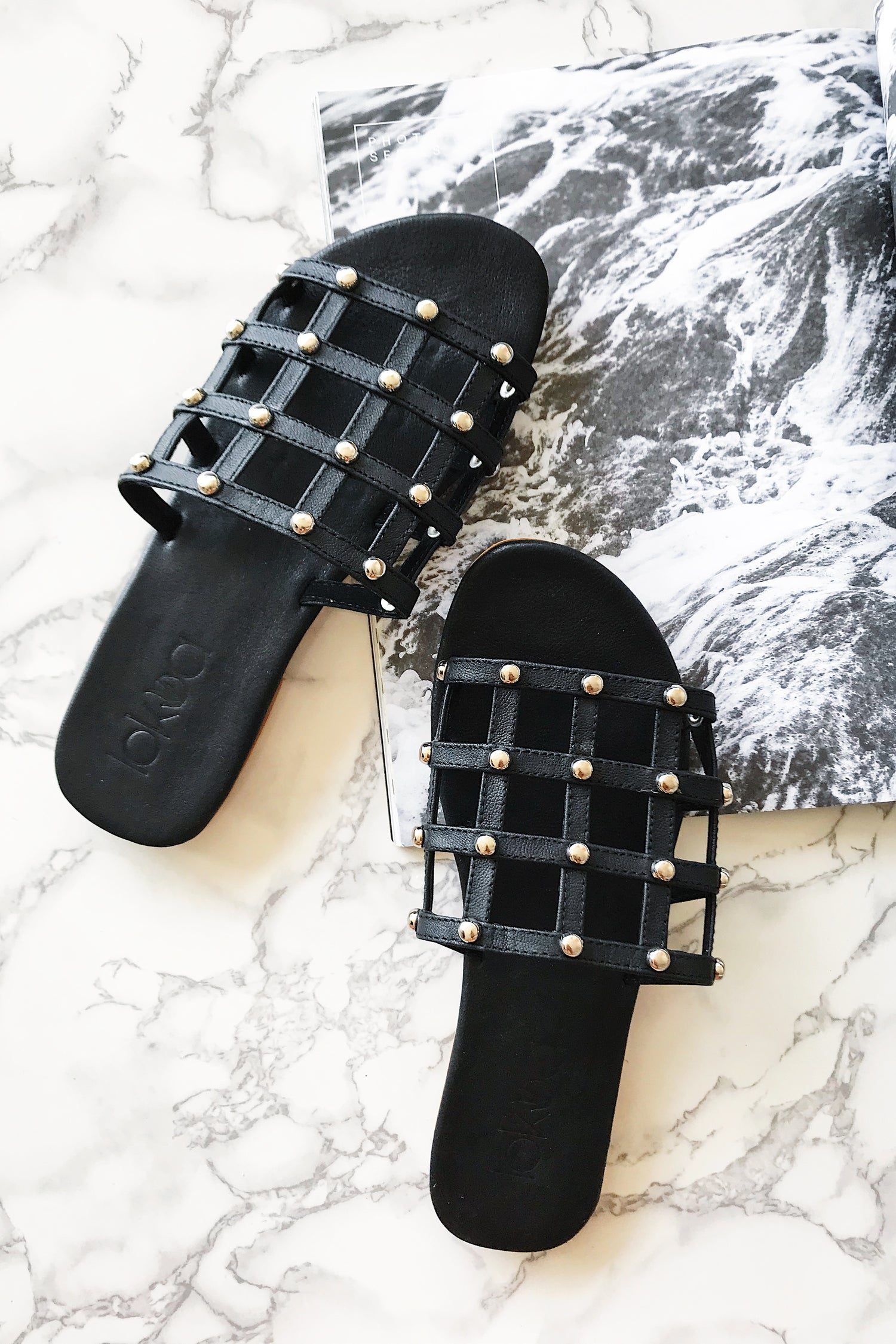 Image of SAYWER SLIDES - BLACK