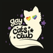 Image of Gay/Queer Cats Club Fabric Sticker