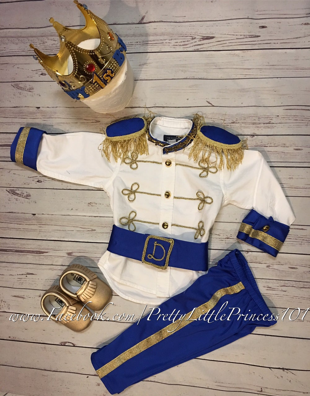 Image of Personalized Prince Charming Outfit