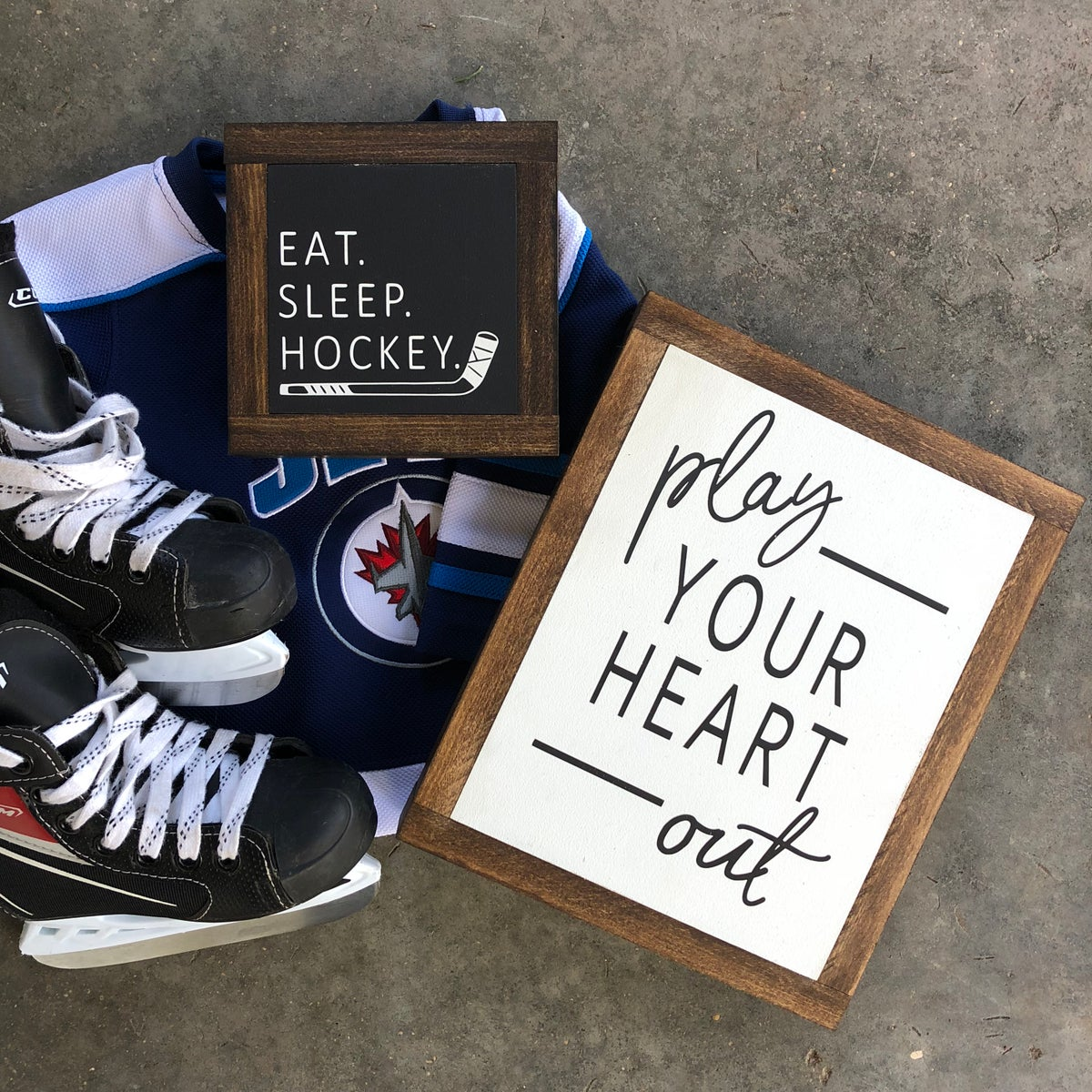 Image of Eat. Sleep. Hockey