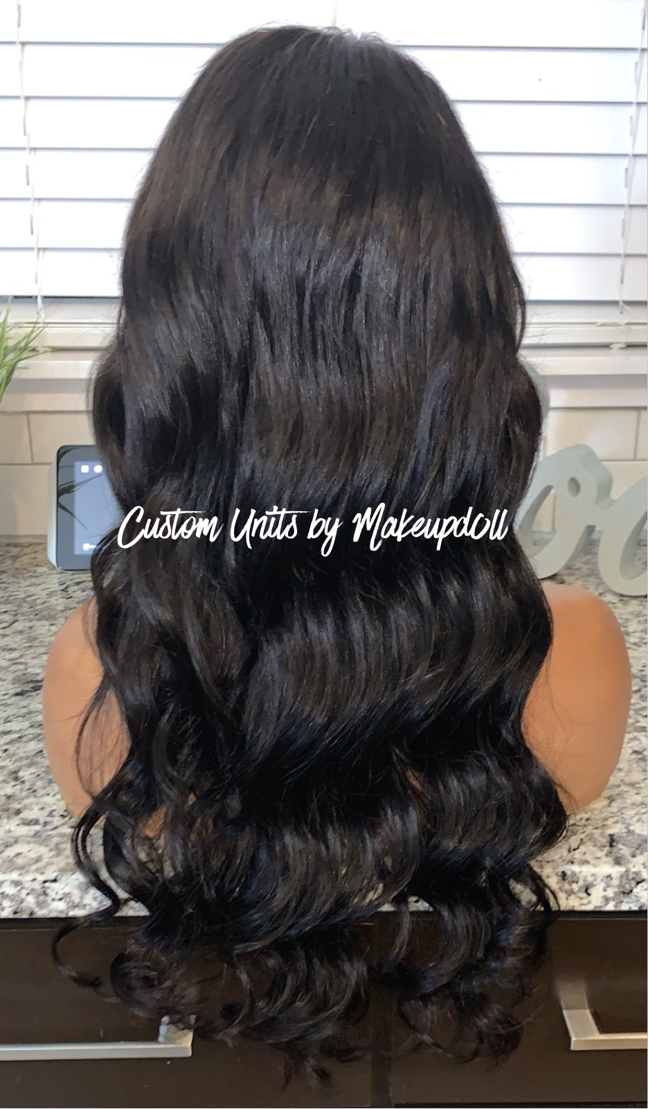"Image of Brazilian Body Wave 22"" Closure Wig!"
