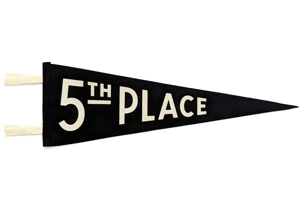 Image of 5th Place Pennant