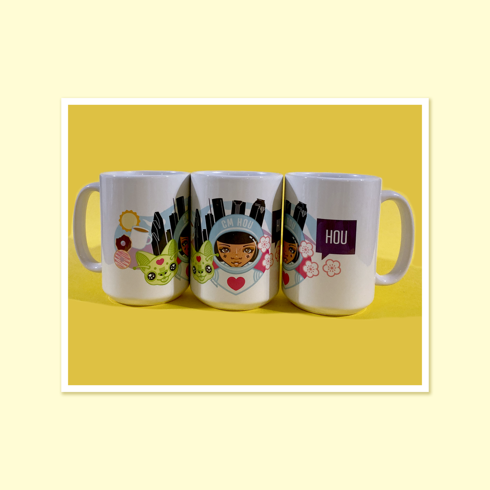 Image of CMHou Katsola Luv Hou Coffee Mug