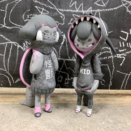 Image of One-off GameraGirl and Kidzilla Customs