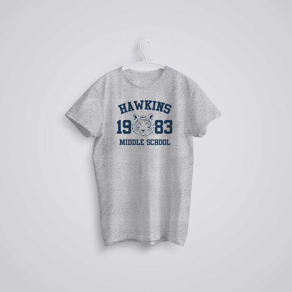 Image of Stranger Things Hawkins Middle School T-Shirt