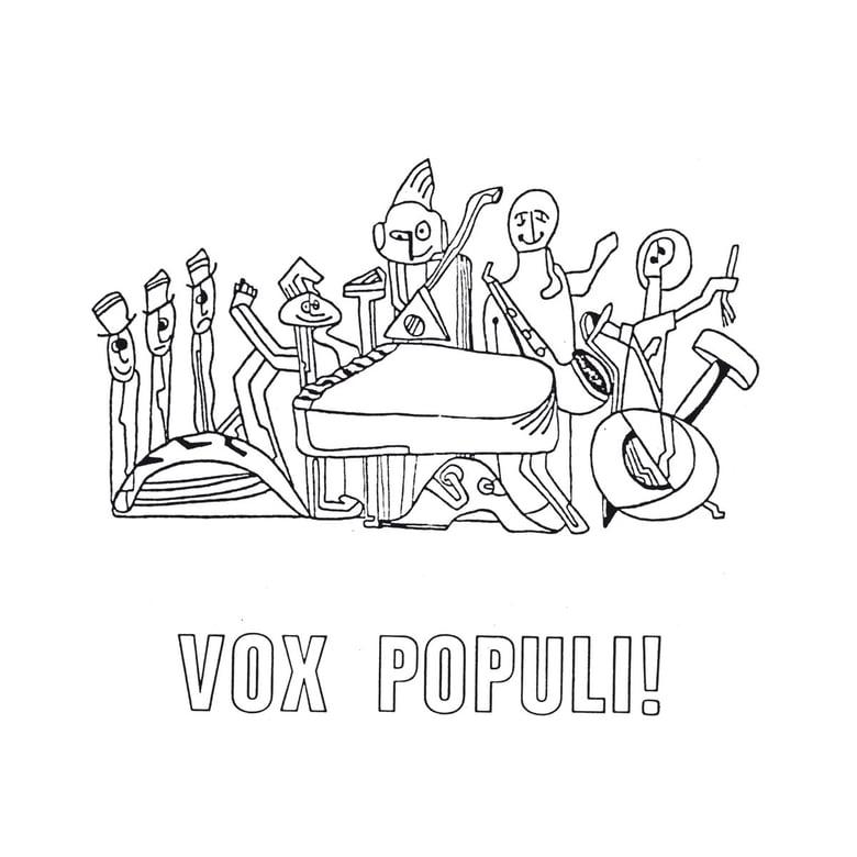 Image of VOX POPULI! - La Cathedrale Morte LP  [ltd.300 BLACK Vinyl]