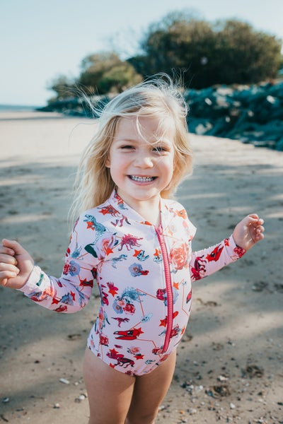 Image of Hear Rosie Roar Sunsuit
