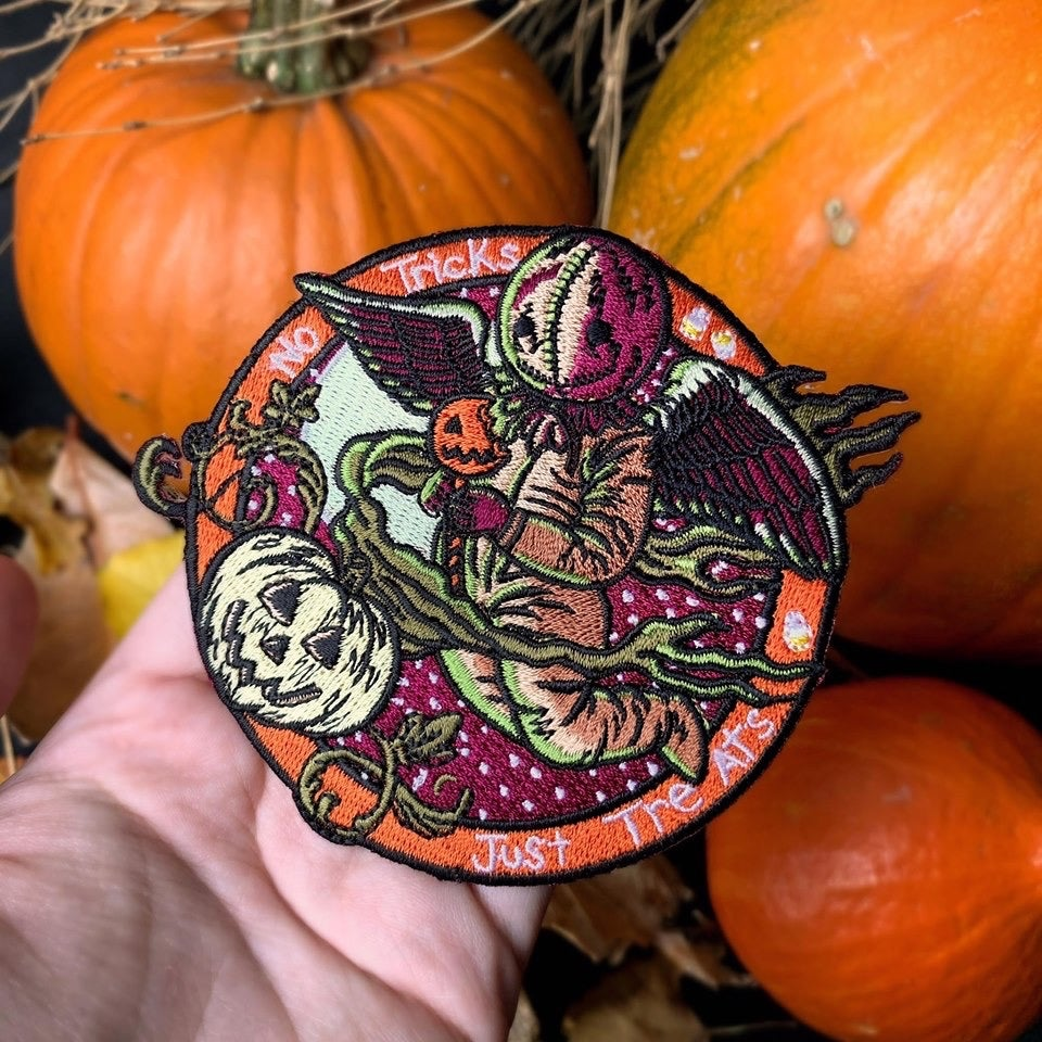 Image of Little 'Ween Cherub embroidered patch
