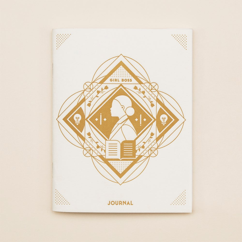 Image of Girl Boss Journal : Letterpress Notebook