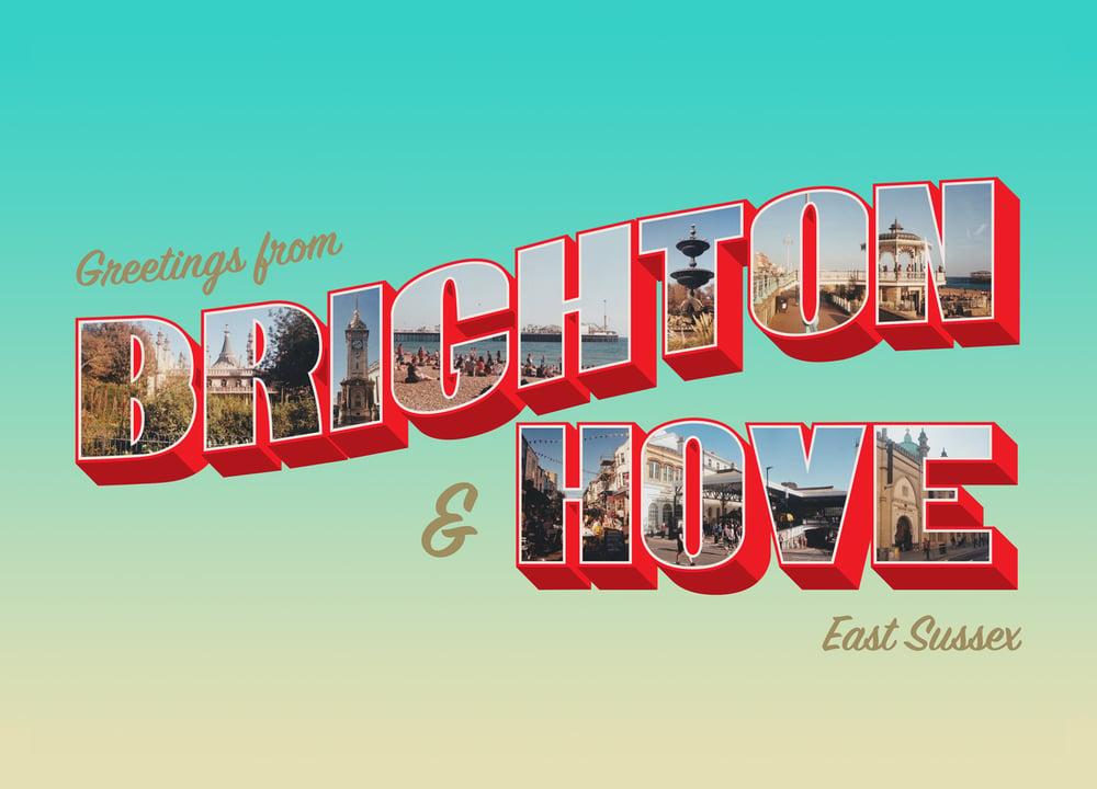 Image of Brighton & Hove A6 Postcard