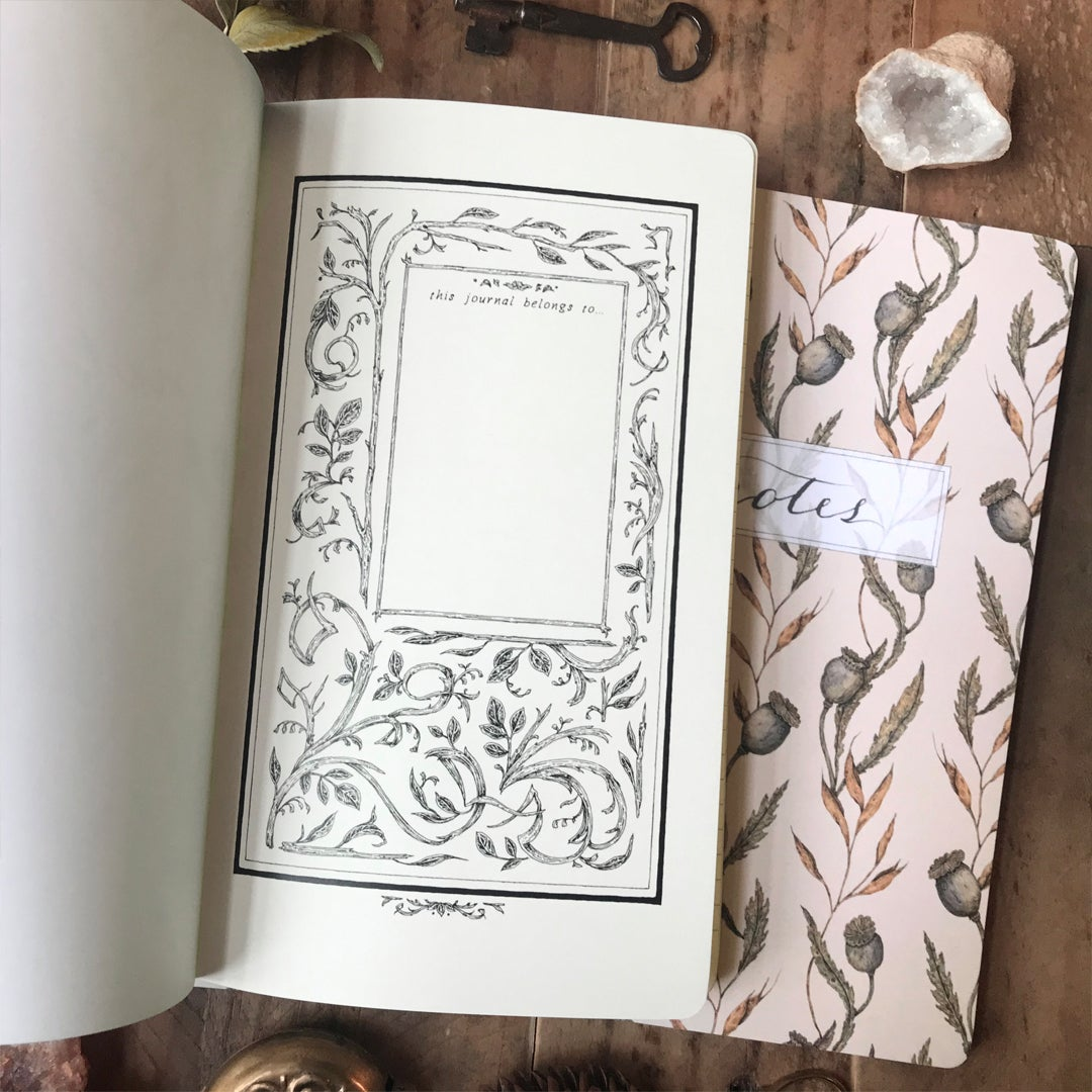 Image of Poppy Pattern Notebook
