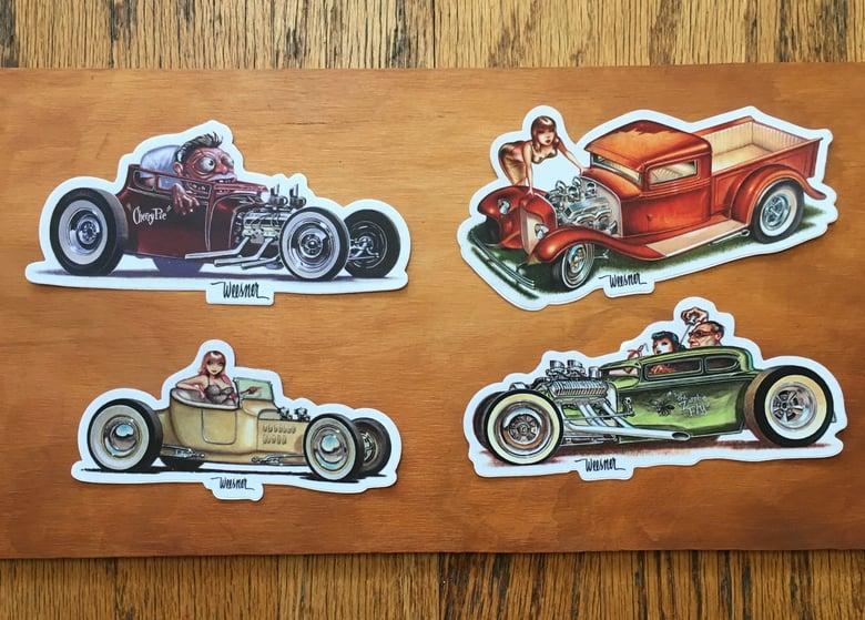 Image of Sticker Set of four No. 3