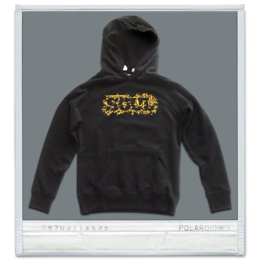 Image of Ladies & Mens - Kernowfornia SOUL: hoodie (Black, pink or Cobalt blue)