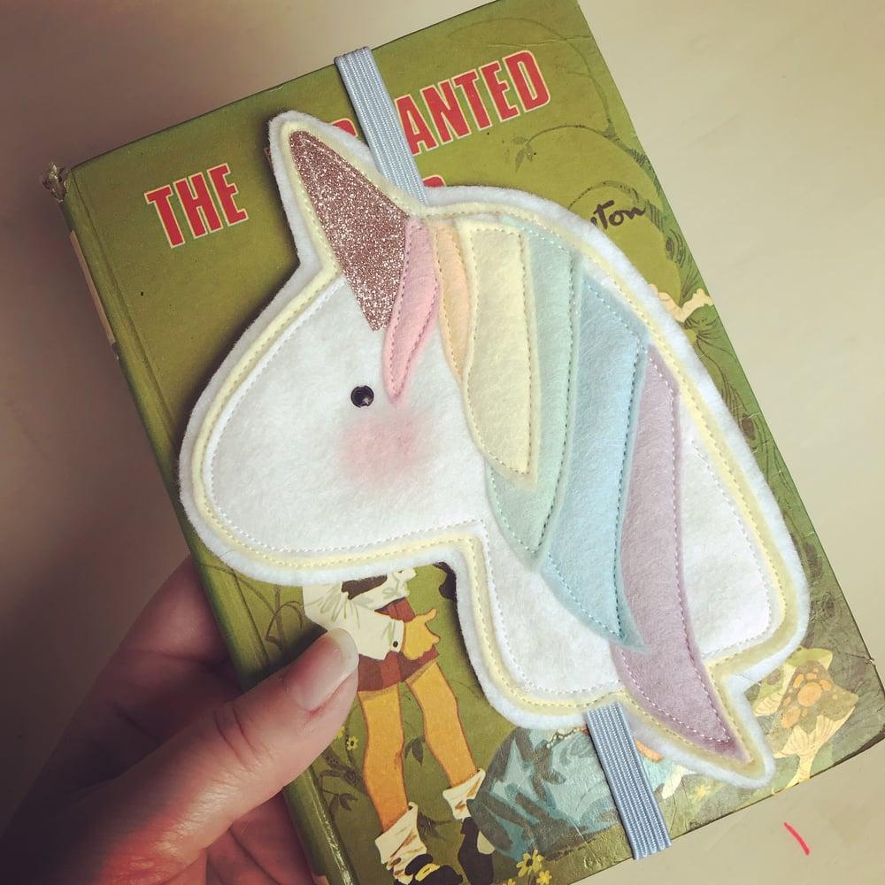 Image of Unicorn bookmark