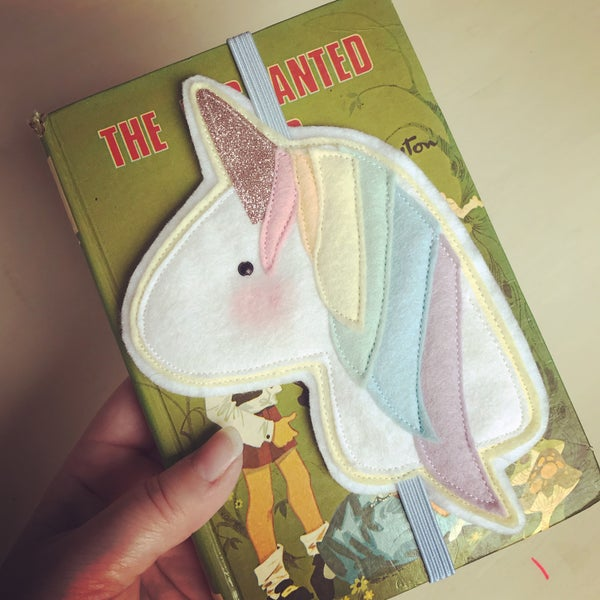 Image of Unicorn bookmark