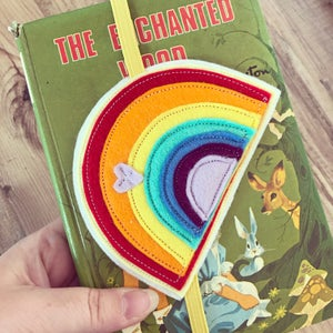 Image of Rainbow bookmark