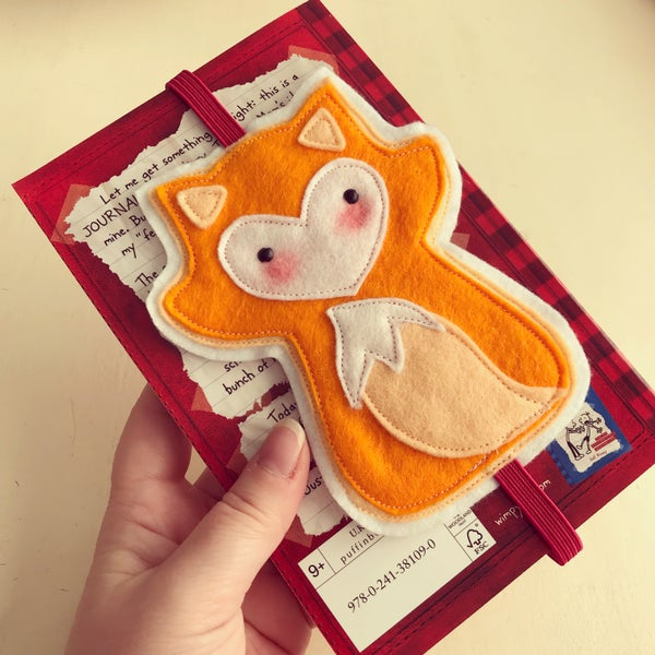Image of Fox bookmark