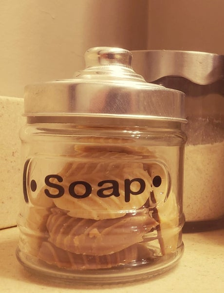 Image of Guest Soap Jar