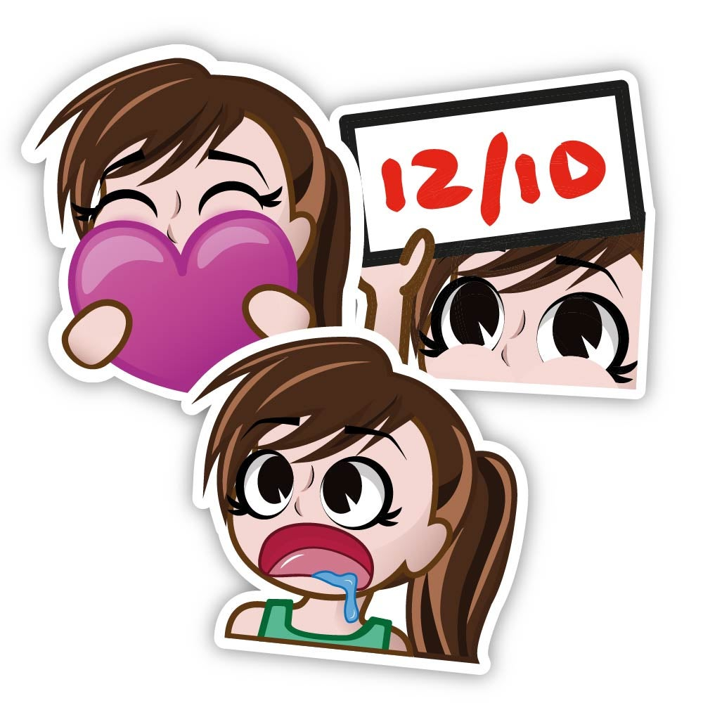 Image of Trio Sticker Pack