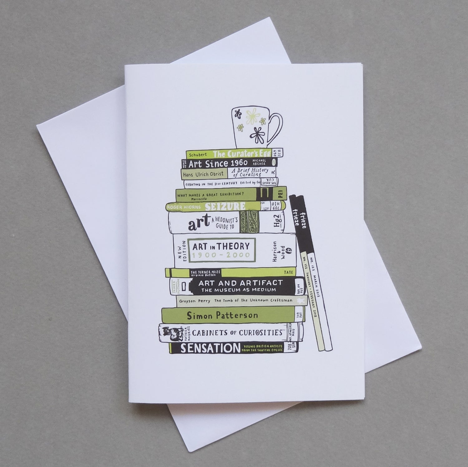 Image of BOOKWORM card