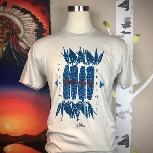 Image of Blue Corn Sovereignty Tee