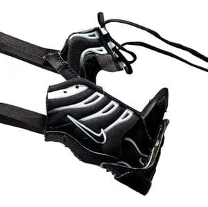 Image of SNEAKER MASK - / BLACK - WHITE / - HEAD PIECE