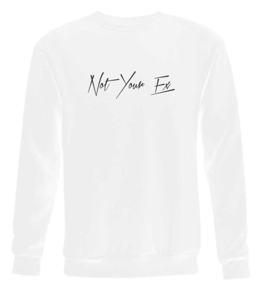 Image of 'Not Your Ex' White Long Sleeve