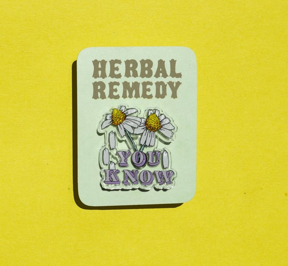 Image of Herbal Remedy Pin: Chamomile